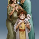 Jesus_and_Family_by_Tazi_san