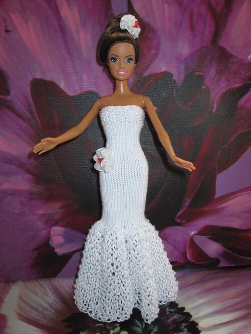 Robes de mariées pour barbie