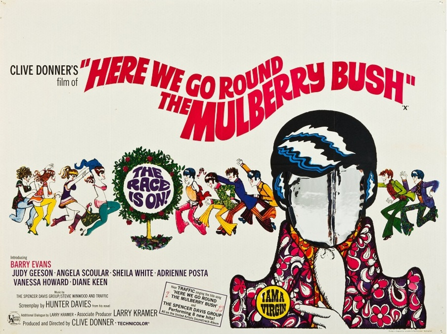 HERE WE GO ROUND THE MULBERRY BUSH US BOX OFFICE 1968
