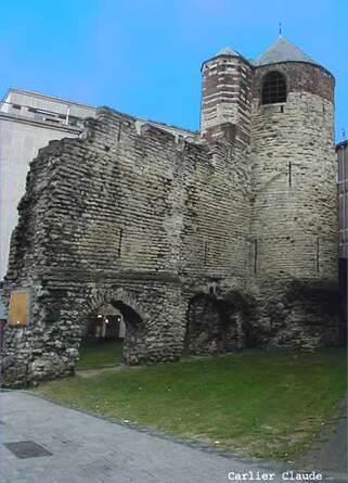 3. 5. L'enceinte de Bruxelles au 13ème siècle