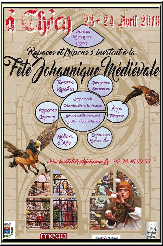 Fête johannique médiévale à Checy (loiret)