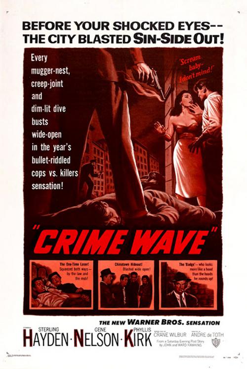 Chasse au gang, Crime wave, André de Toth, 1954