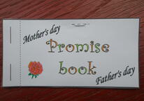 Mother's day and Father's day promise book