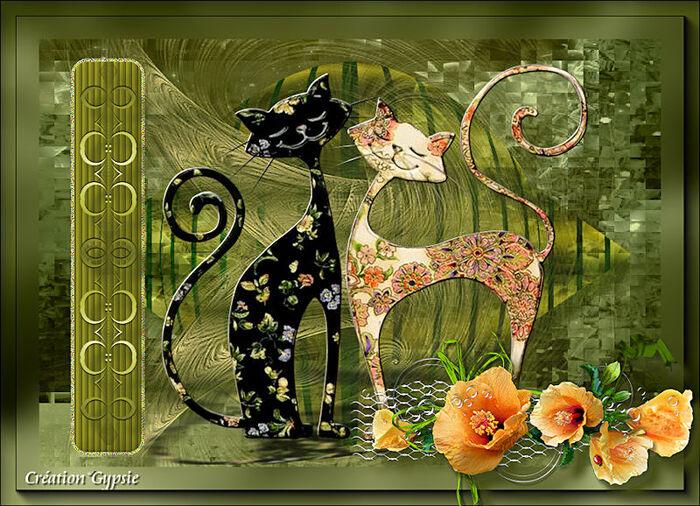 Vos versions - Les chats Patchwork