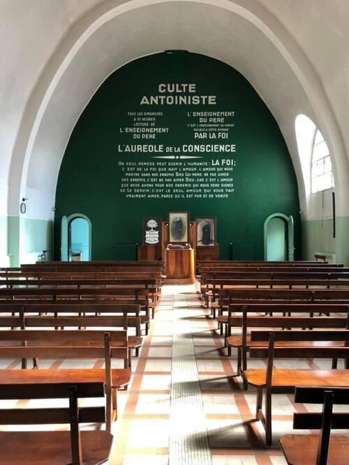 Lille - intérieur du temple