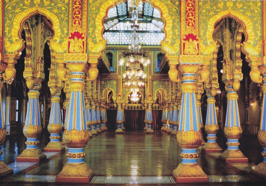 Mysore - palais du maharaja - Inde du sud