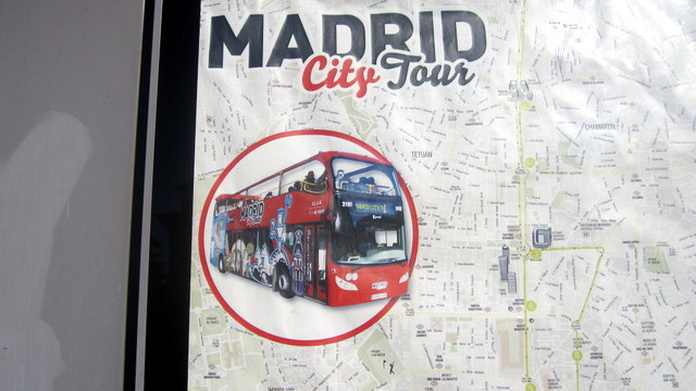 Madrid en car