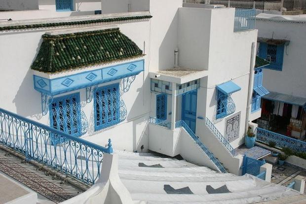 Sidi Bou Saïd sur la colline