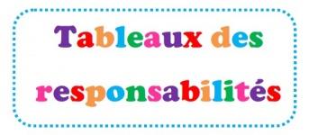 Tableaux des responsabilités