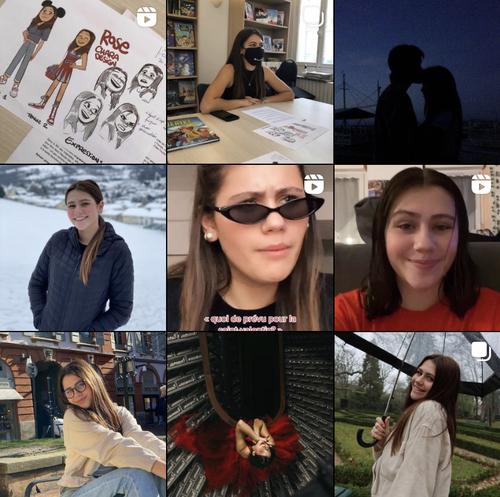 Personnalités de TikTok sur Instagram