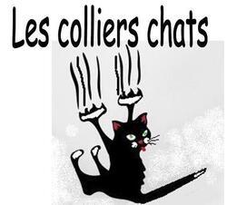 Les colliers sur le thème du chat
