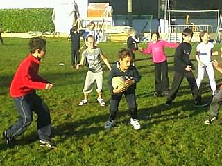 rugby ...dernière séance