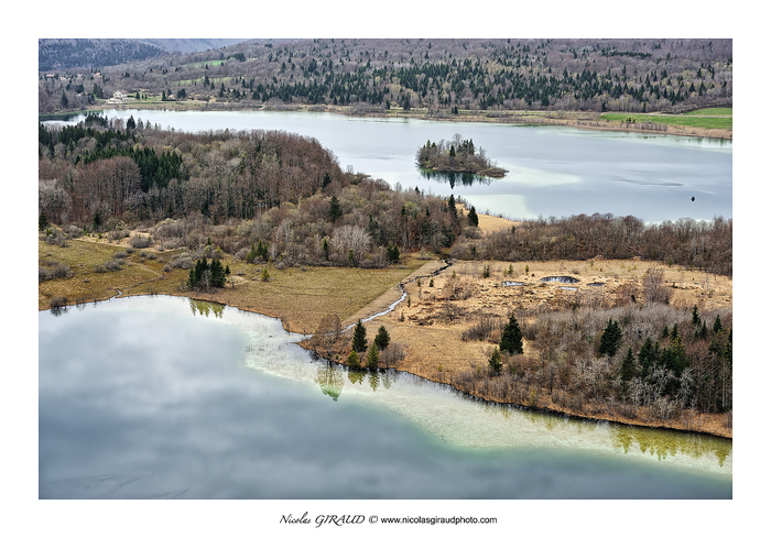 Lacs et cascades du Jura (secteur Chalain - Ilay - Hérisson)