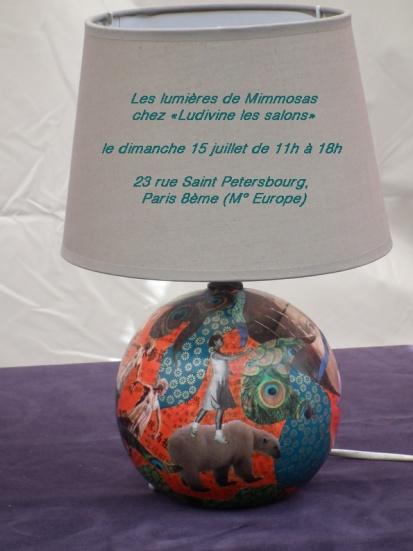 """LES LUMIERES DE MIMMOSAS CHEZ """"LUDIVINE, LES SALONS"""""""