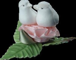 Le mariage des oiseaux  défi de Brigitte