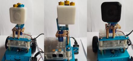 Séquence « Mécano » : plans panoramiques avec mBot, servo et caméra