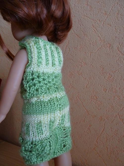 Fiche gratuite vêtements de poupée N° 207: ensemble pour les Chéries