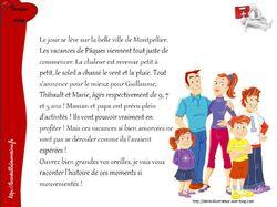 """Fiches """"gestes qui sauvent"""" histoire racontée aux enfants"""