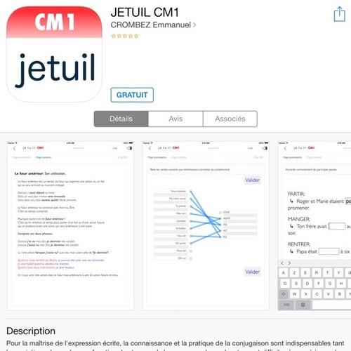 [appli] JETUIL CM1