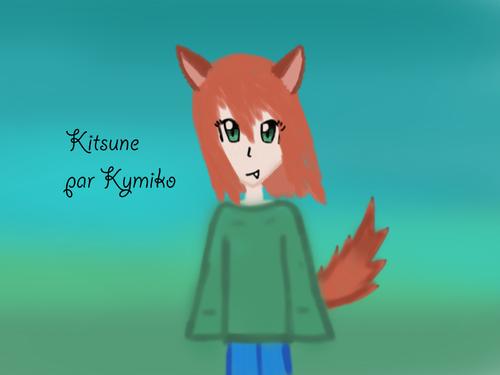 Dessin n°1, Kitsune !
