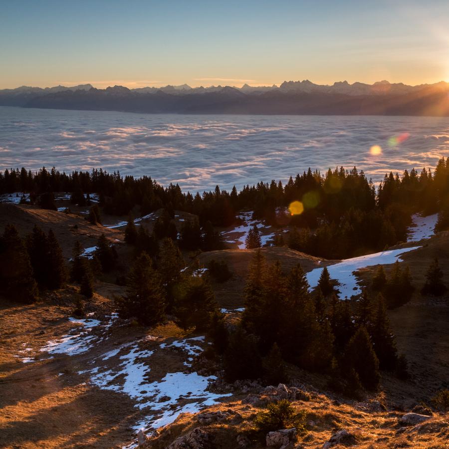Sunrise La Dole