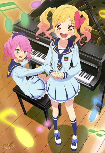 Tags: Anime, Bandai Namco Pictures, Aikatsu Stars!, Sakuraba Laura, Nijino Yume