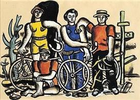fernand  léger  : les  cyclistes