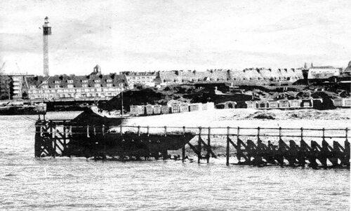 De 1948 à 1965, les chalets étaient déplacés l'hiver