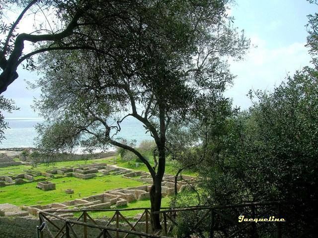 La villa de Tibère à Sperlonga