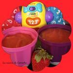 compote de pommes fraises dès 6 mois
