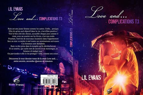 "Découvrez la couverture de ""Love and... "" de Lil Evans : Love and complications"