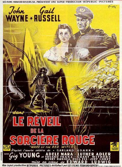 LE REVEIL DE LA SORCIERE ROUGE - JOHN WAYNE BOX OFFICE 1950