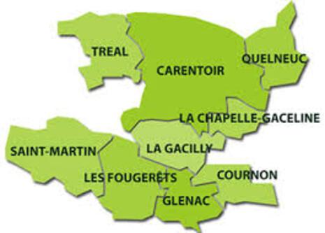 INONDATIONS DU PAYS DE LA  GACILLY  56      11/02/2014