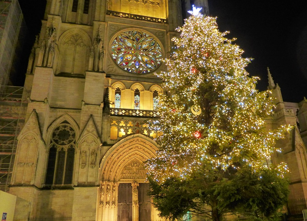 Illuminations de Noël 2015 à Bordeaux...