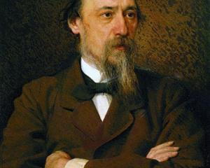 Portrait of the poet Nikolai Nekrasov  - Ivan Kramskoy