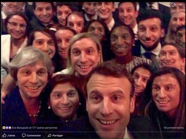 [Macron's team]