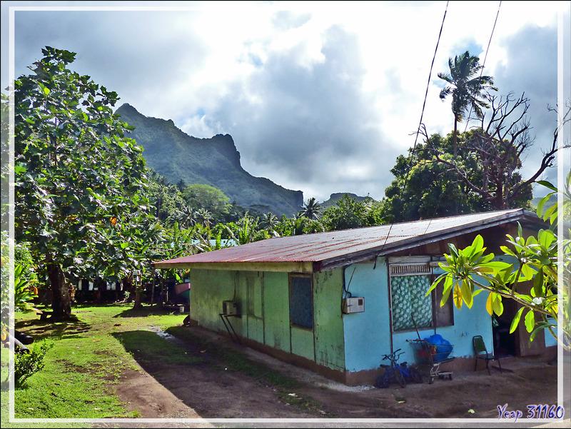 Serait-ce le mont Aahinui ? - Raiatea - Polynésie française
