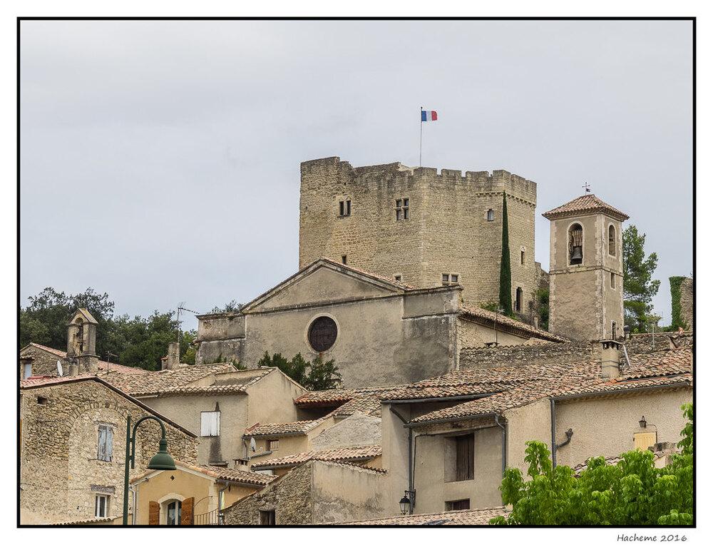 Mollans : le château