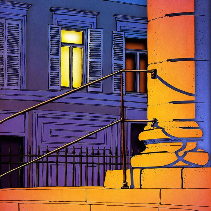 créations rendant hommage à Paris et à ses lumières.........L'illustratrice Brigitta Raczes  ..