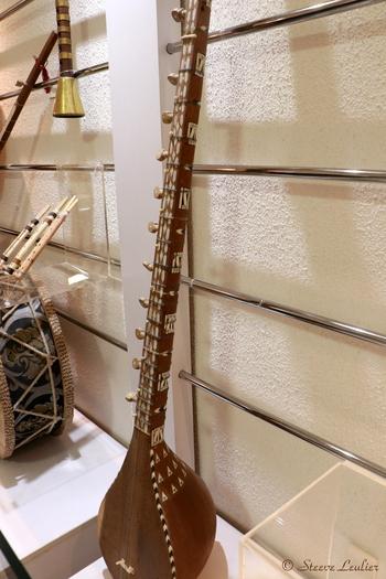 Musée de la musique : les instruments régionaux, Dotar Harati, Ispahan