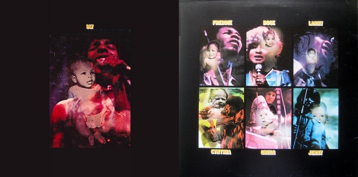 """Sly & The Family Stone : Album """" Stand ! """" Epic Records BN 26456 [ US ]"""