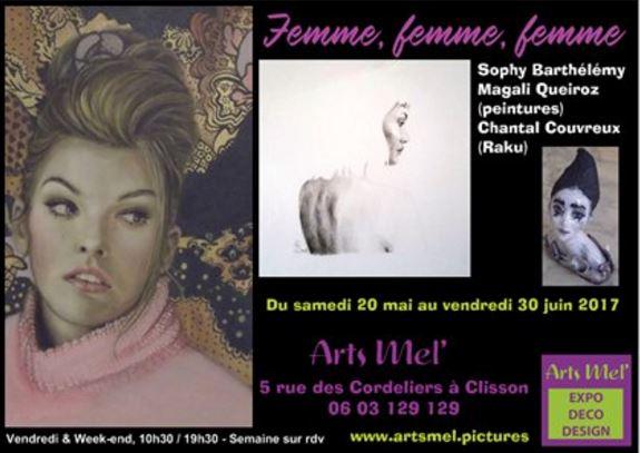 Exposition chez Arts Mel' à Clisson