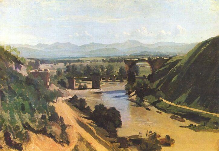 JB Corot, peintre de paysages italiens par Iliana (207) et Madisson (211)