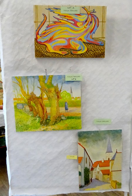La journée des peintres 2013 à Villaines en Duesmois...