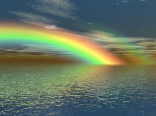 La couleur de l'eau