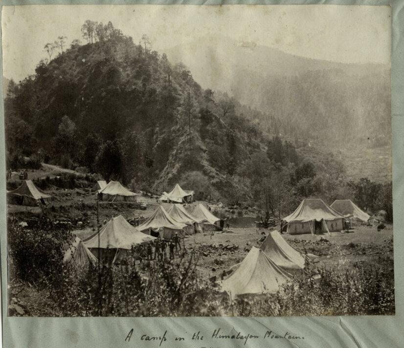 34.Du mont Chomolhari, l'Everest et le temple de ParoTaksang