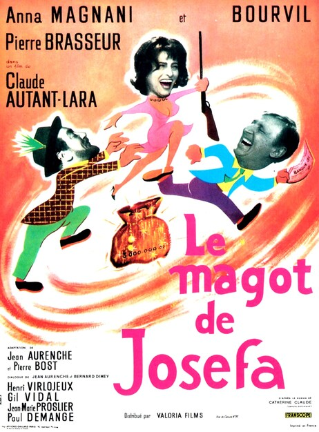 LE MAGOT DE JOSEPHA - BOX OFFICE BOURVIL 1963