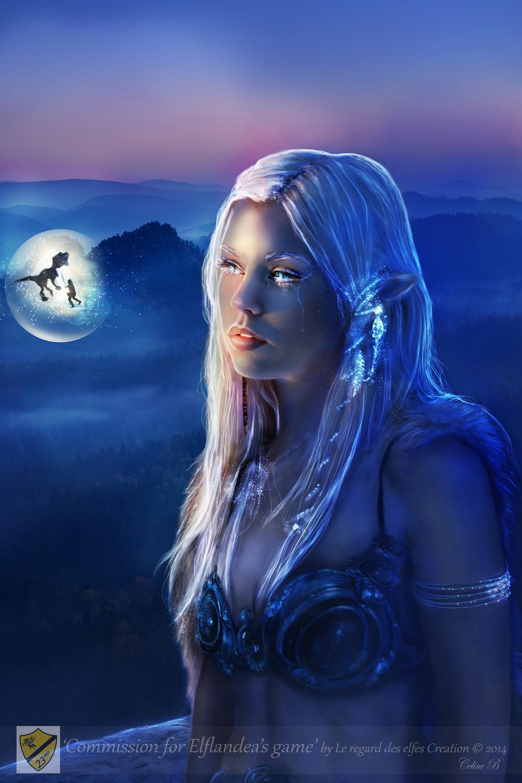 Le regard des elfes