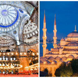 "La Mosquée Bleue ""Sultan Ahmed"", en Turquie"