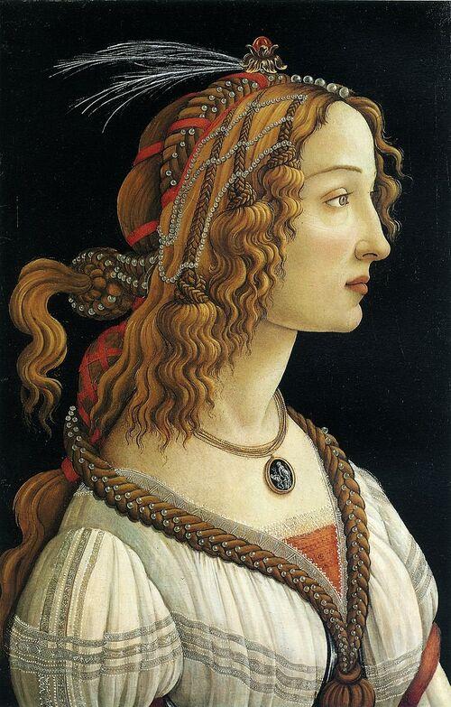 La belle Simonetta (Sandro Botticelli)